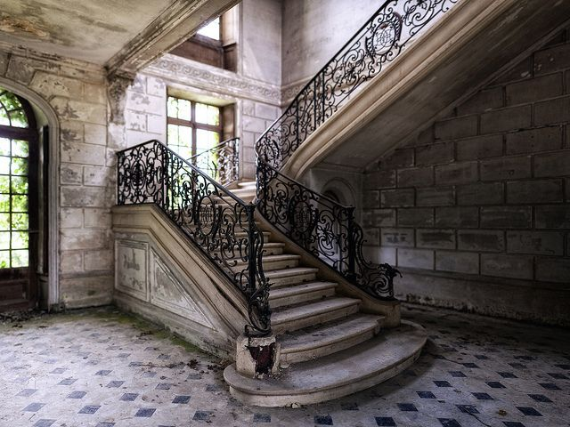 Fancy Abandoned Staircase By Alt_Gr *busy* Www.nilseisfeld.de, Via Flickr