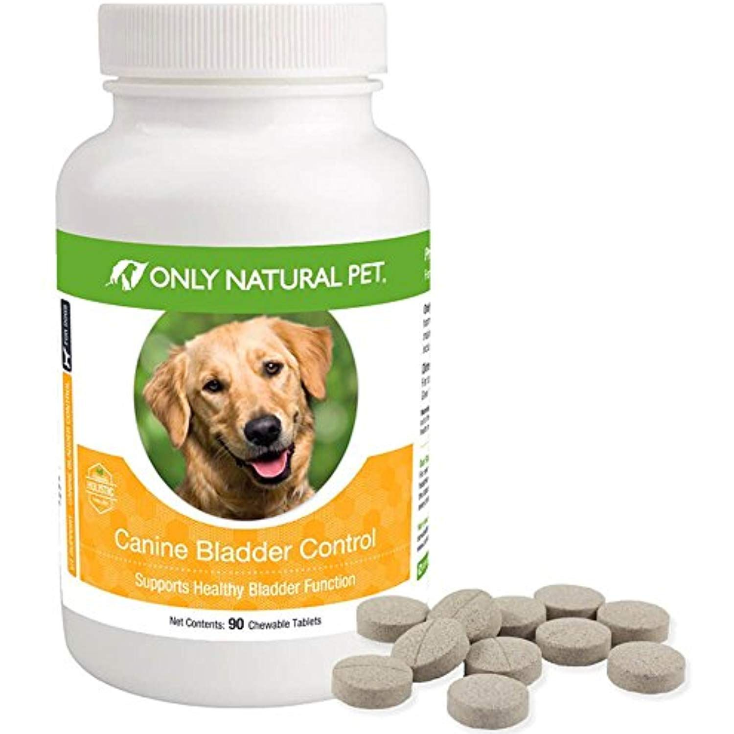 Only natural pet canine bladder control for dogs helps