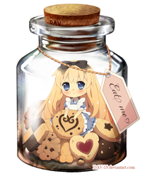 Alice in a Bottle by DAV-19 on DeviantArt