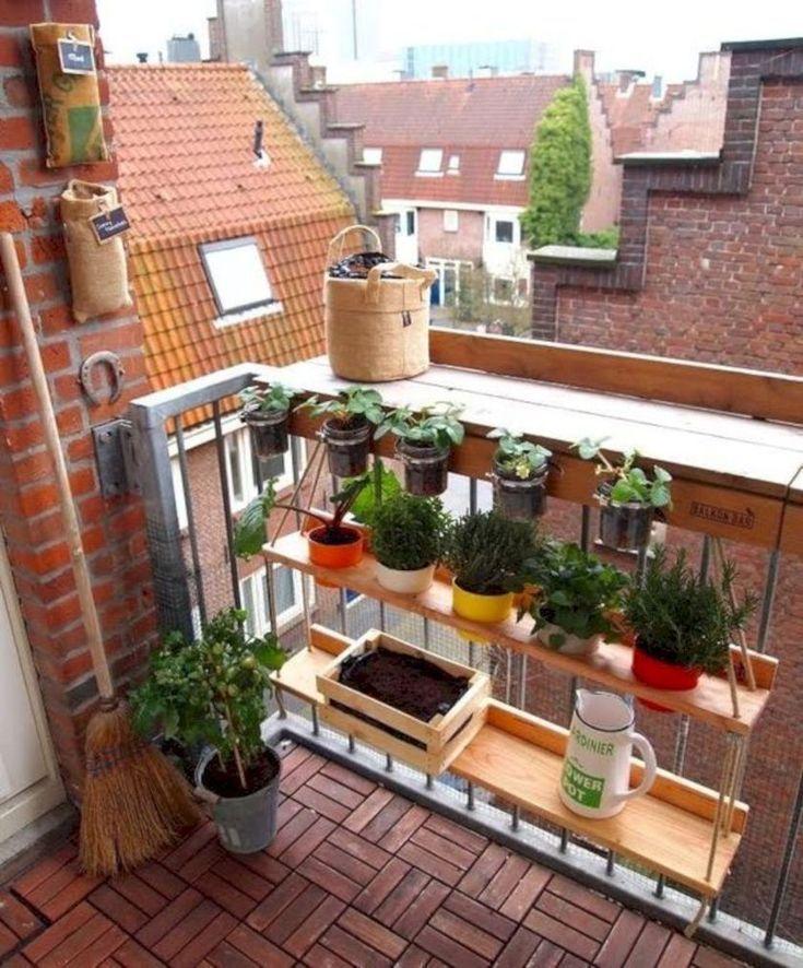 38 Fantastische Balkonideen für kleine Räume - Gur - Kleiner Balkon Ideen #balconyideas