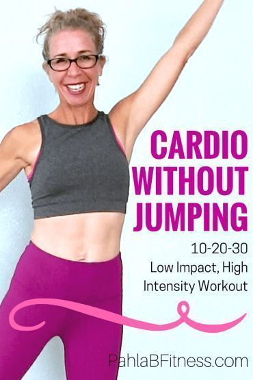 25 Minute LOW IMPACT Cardio Workout -10-20-30 Routine for Endurance, Fat Loss and Body Shaping - Ful...