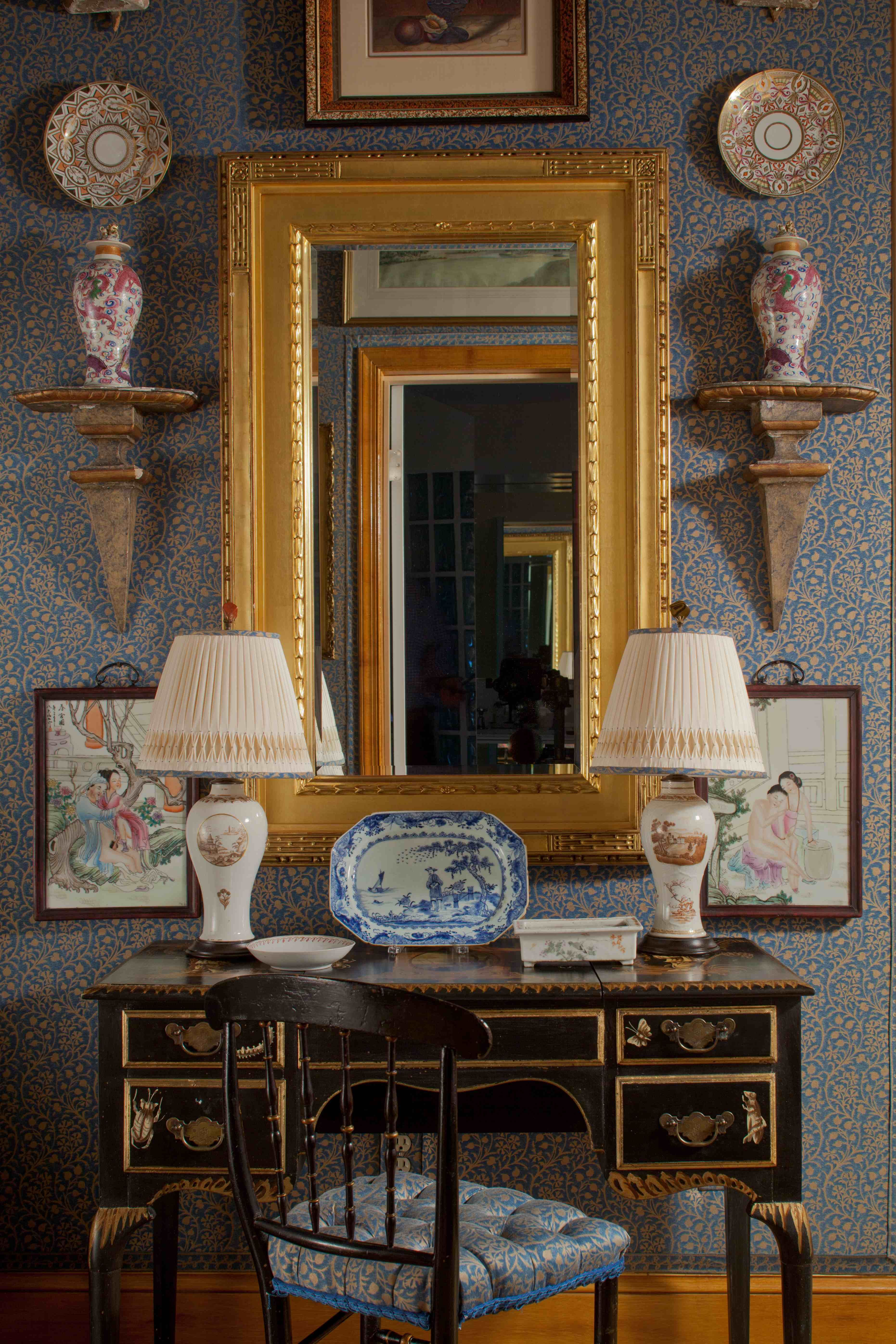 Fortuny Interiors Dressing Room Art Mariano Fortuny Decor Interior Southern Style