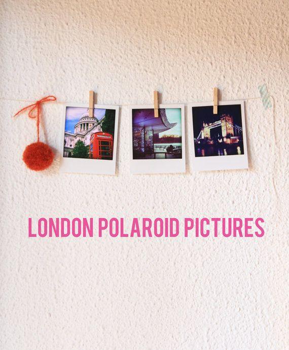 Polaroid pack pictures London by Katratzi on Etsy. Katratzi Photo