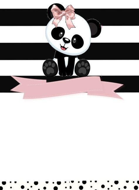 Pin By Gaby Perez On Festa Filha Panda Birthday Panda Party Panda Birthday Party