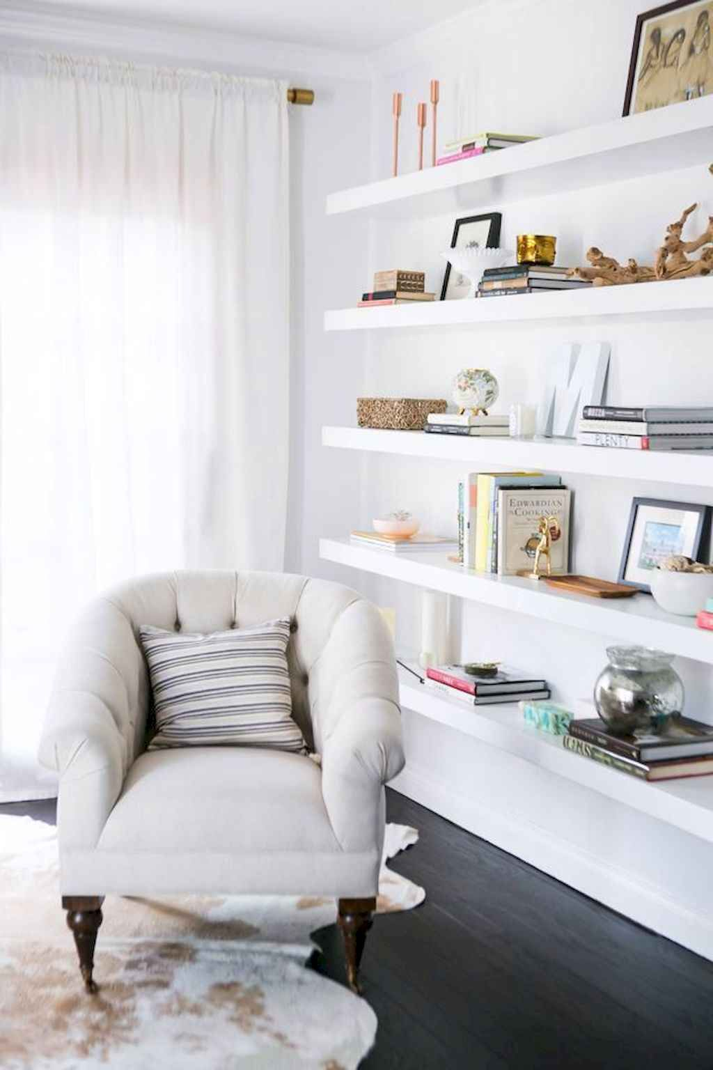 50 Diy Floating Shelves For Living Room Decorating Floating