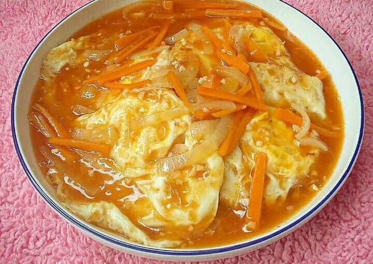 Resep Telur Ceplok Asam Manis Oleh Susan Mellyani Resep Makanan Telur Resep