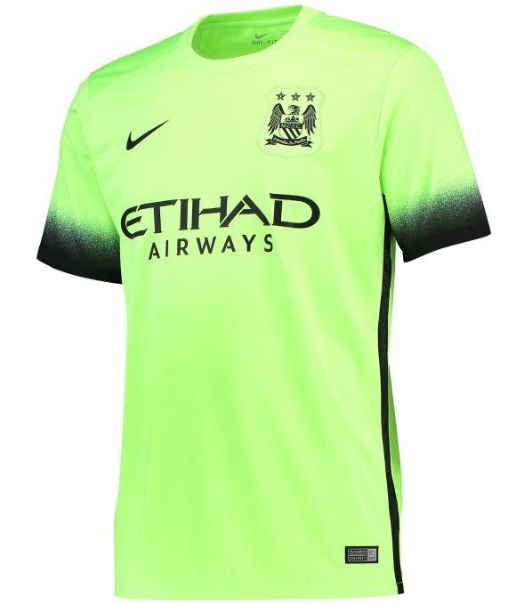 e6fa35de16b95 Manchester City 2015-16 Nike Third Kit