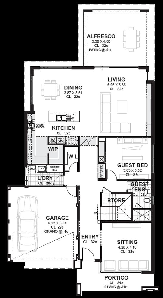 Esteem Award Winning 2 Storey Display Home Perth Novus House Plans Two Story House Design Single Storey House Plans