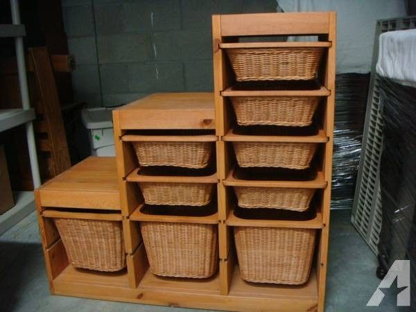 Ikea Trofast W Wicker Basket Drawers 75 Wicker Basket Drawers