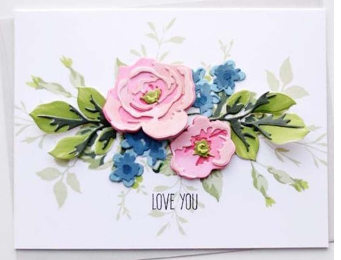 Pin by Linda Feiner Somers on Cards flowers altenew