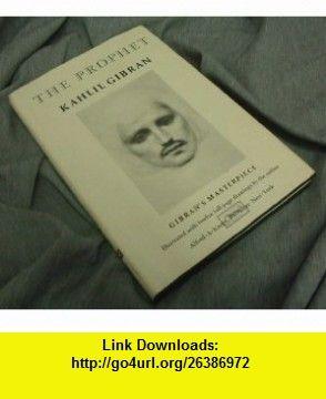 The Prophet (9780394404288) Kahlil Gibran , ISBN-10: 0394404289