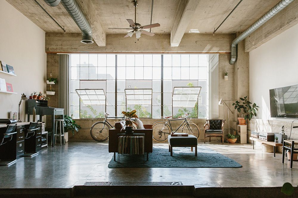 A Friendly Loft In Los Angeles A Cup Of Jo Lofts For Rent Home Loft Living