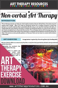The Benefits of using Art Therapy for Non-Verbal Clients