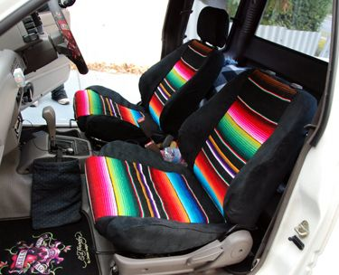 Make Your Own Seat Covers - Easy Craft Ideas