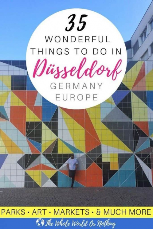 One of Europes top up coming city destinations theres so much to see in Düsseldorf Germany. From the Altstadt old town to the modern Medienhafen harbour & everything in between - you need to read the before your German city break   #cityguide #germany #dusseldorf #ddorf #traveldestinations #travel #destinations #germany