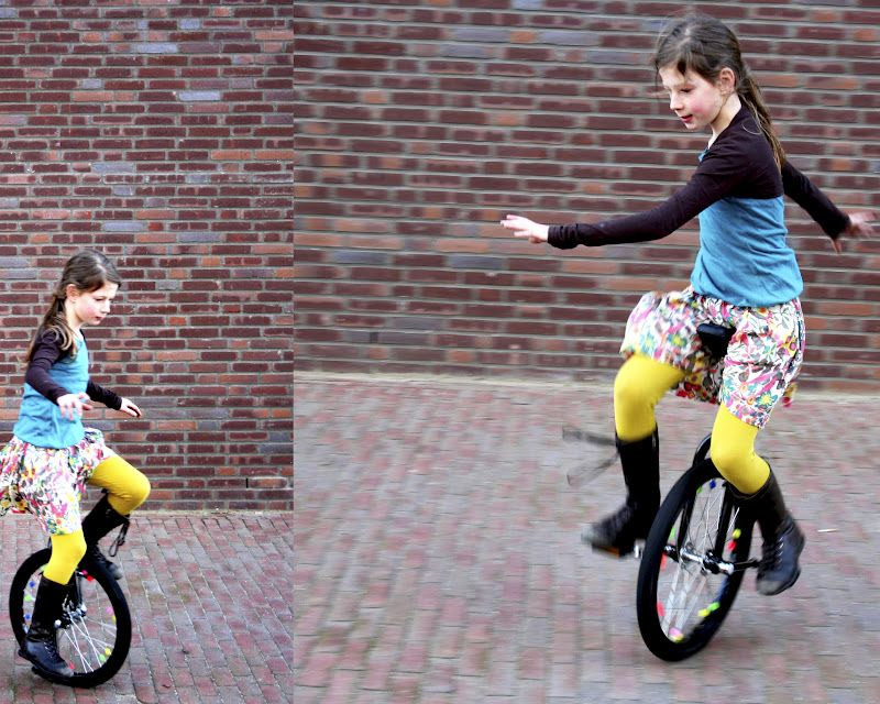 Teach Kids To Ride A Unicycle Before A Bike Cute Story With This On Blog Unicycle Curious Kids Unicycles