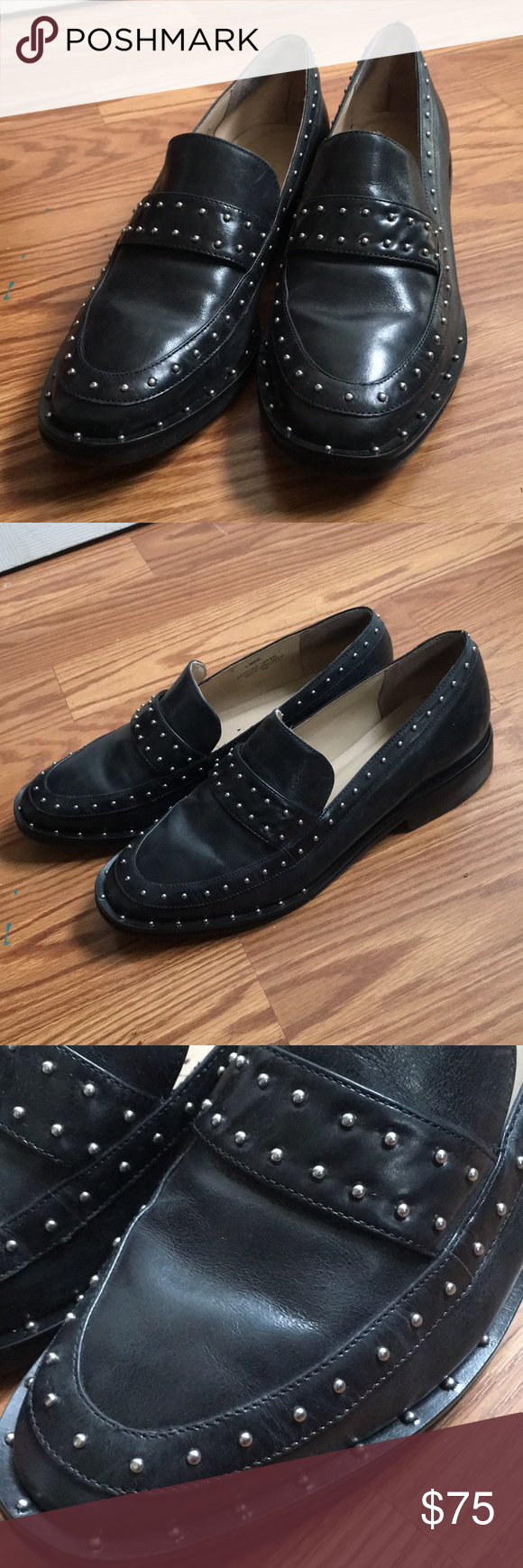 Lf Life Studded Loafers Only Worn A Handful Of Times They Re A Little Tight On My Feet Brand Is Lf Life Size 7 Lf Studded Loafers Loafers Dress Shoes Men [ 1740 x 580 Pixel ]