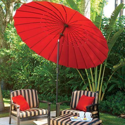 9 paradise patio umbrella looks like a japanese mbrella love it