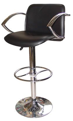 Superb Paris Swivel Bar Stool Black Or Off White Seat And Padded Ncnpc Chair Design For Home Ncnpcorg
