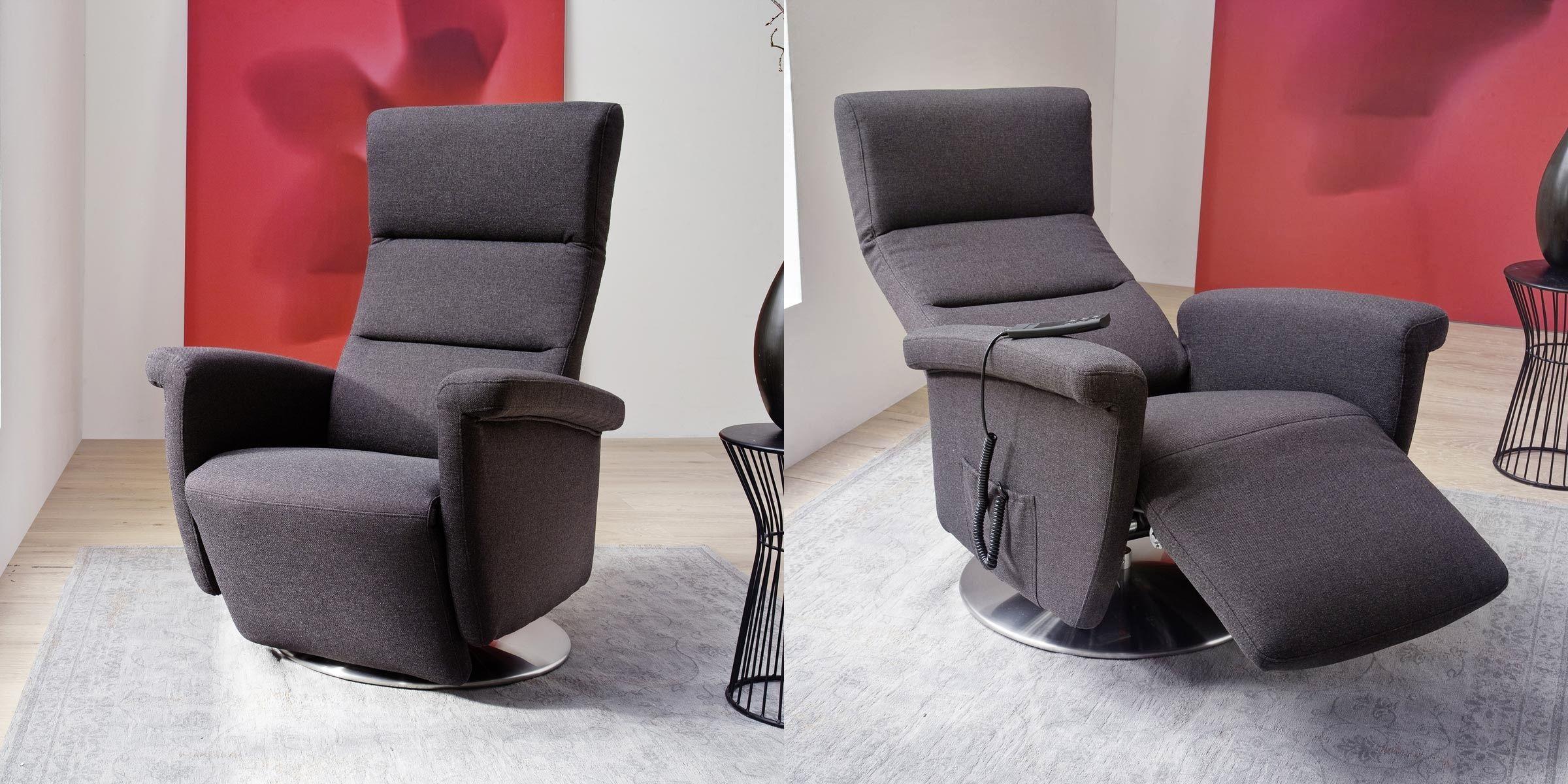 Elektrisch In Die Entspannte Position Mit Dem Relaxsessel Gribskov Wohnzimmer Sessel