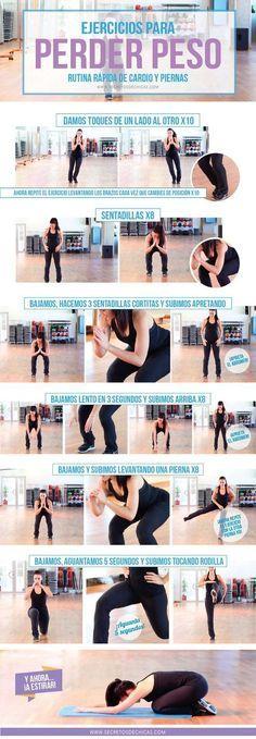 ejercicio para perder peso cardio