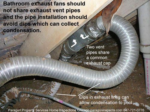 Good Bathroom Exhaust Fan Pipe