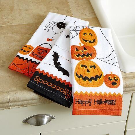 Halloween Kitchen Towels $1599 Halloween Pinterest Halloween