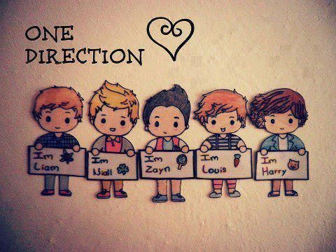 Pin By Shirley Natalia On One Direction One Direction Cartoons One Direction Art One Direction Fan Art