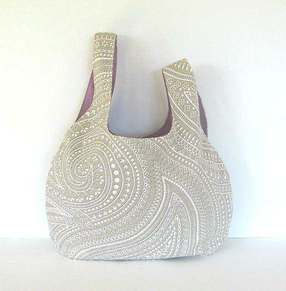 Mom would love this paisley knitting bag. Great tote handbag too. Japanese Knot bag.