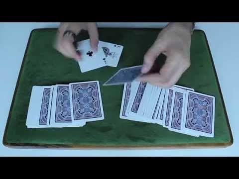 Beginner Card Trick Simple Sandwich Trick Tutorial Easy Card Tricks Card Tricks Easy Magic Tricks