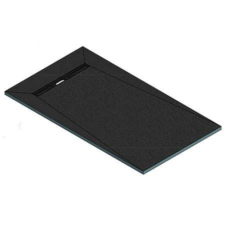 AquaFix Wetroom Shower Tray - 1600x900x30mm - 600mm Linear End Drain