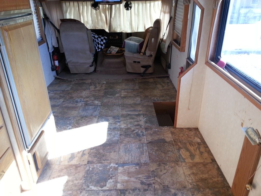 Rv Motorhome Flooring Vinyl Sheet Linoleum Carpet Laminate