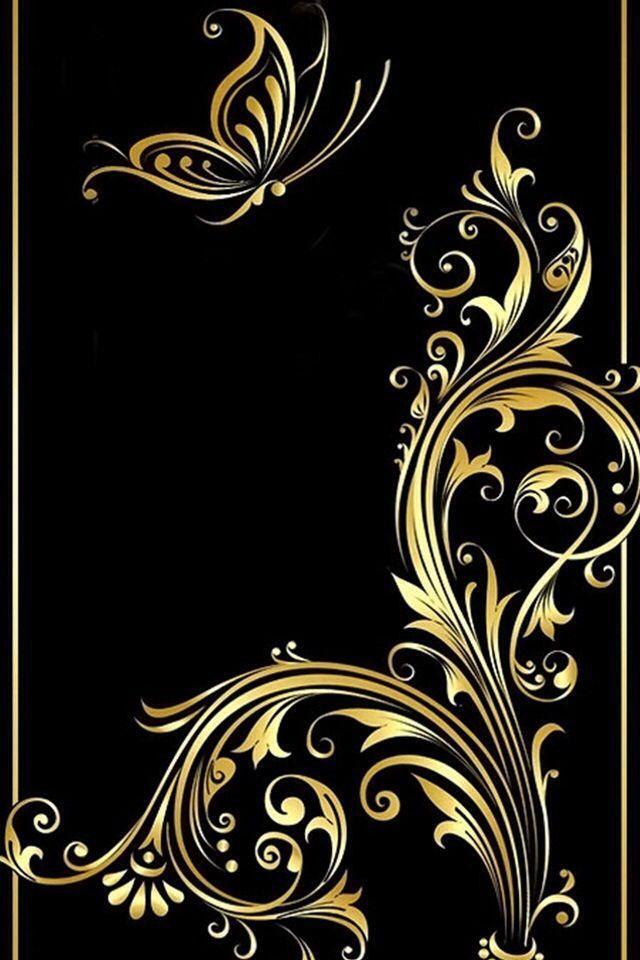 Versace Home Greek Key Black and Gold Luxury Wallpaper