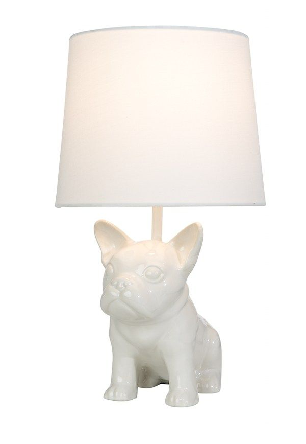 Salt Lamp Target Amusing Bulldog Table Lamp Pillowforttarget  French Bulldog Design Ideas