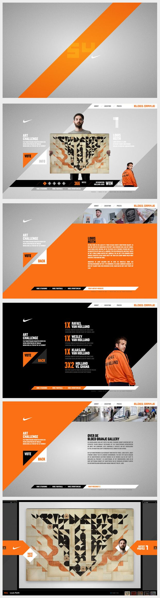 Nike website | Web layout design, Web app design