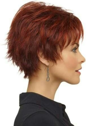 Step cut hairstyle for short hair indian