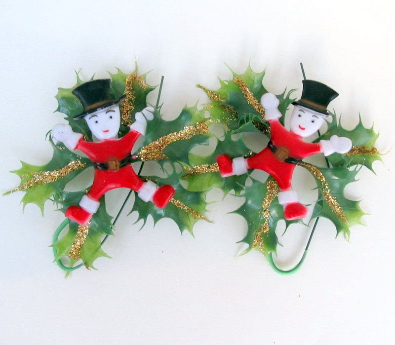 Vintage Christmas Package Tie On Decoration Vintage christmas - christmas decorations sale