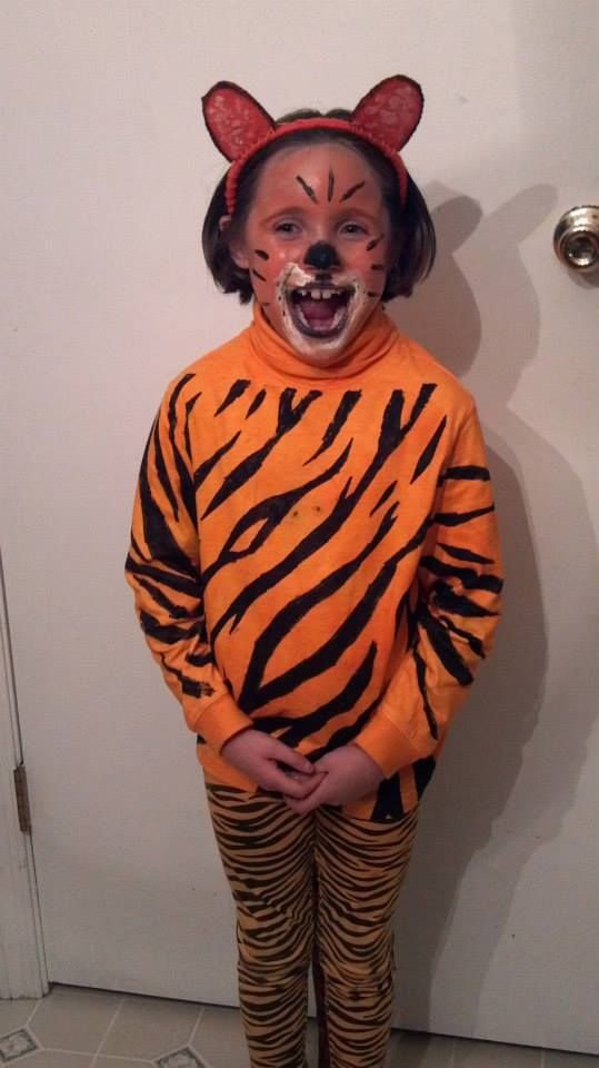 baby tigress another entree in our halloween costume contest grab an orange pair of pants - Tigress Halloween Costume