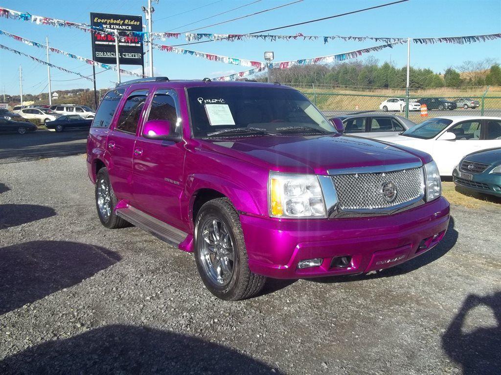 2005 Cadillac Escalade pink car, pink truck pink SUV