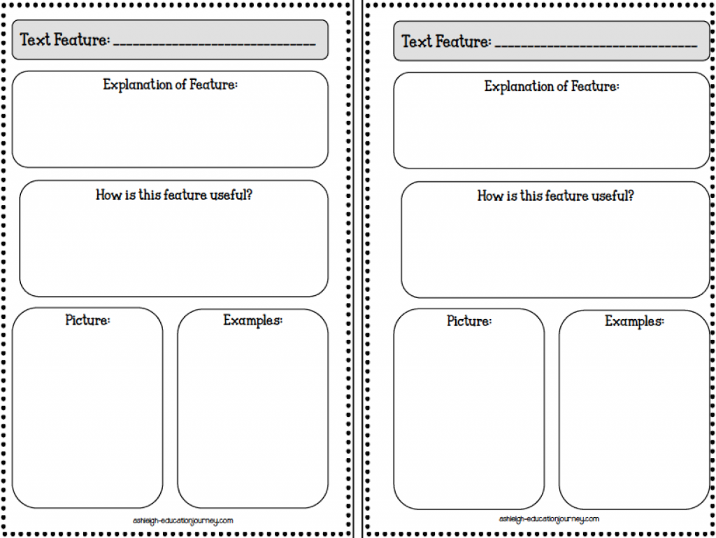 worksheet Text Features Worksheet 2nd Grade nonfiction text features education pinterest check out my new booklet that i made to use for grade guided reading unit just print and go