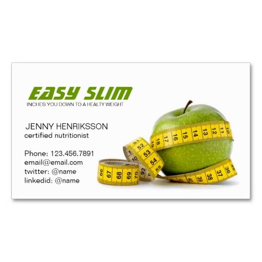 Diet dietitian nutritionist and weight loss business card diet dietitian nutritionist and weight loss business card colourmoves Gallery