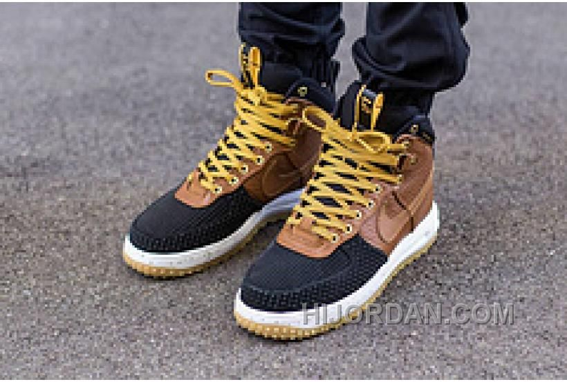 Nike Lunar Force 1 Duckboot 806402-100 Black Wheat Khaki in 2019 ... d130345cc