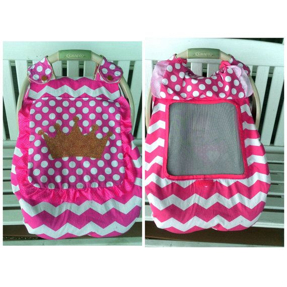 For The Little Princess Car Seat Canopy With Soft By Lindasnd