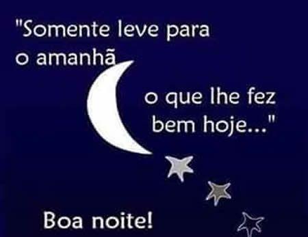 Imagem Boa Noite lua