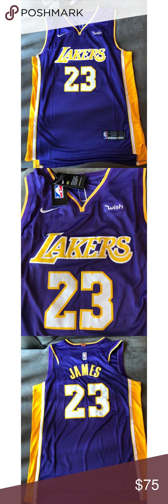 wholesale dealer f63fe 941d4 Los Angeles Lakers Lebron James Jersey Authentic Nike Lebron ...