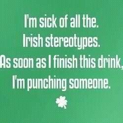 Irish sterotype