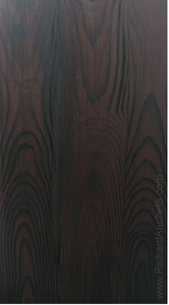 Wood Grain Wenge Faux Finish Painting A Simple Technique Of The Application Of Graining Tool