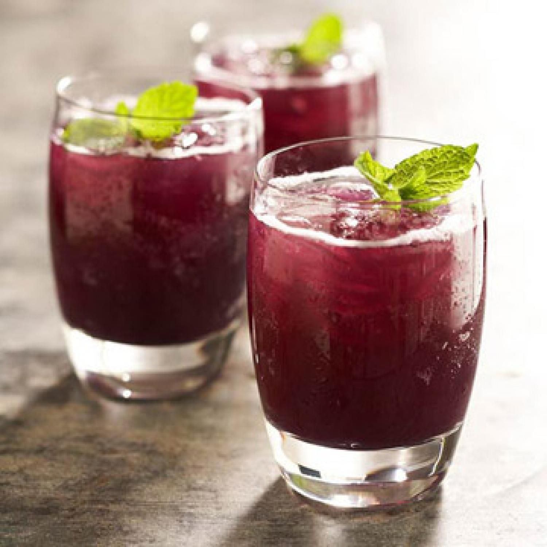 Grape Pineapple Mint Fizz Diabetic Drinks Fresh Drinks Skinny Cocktails
