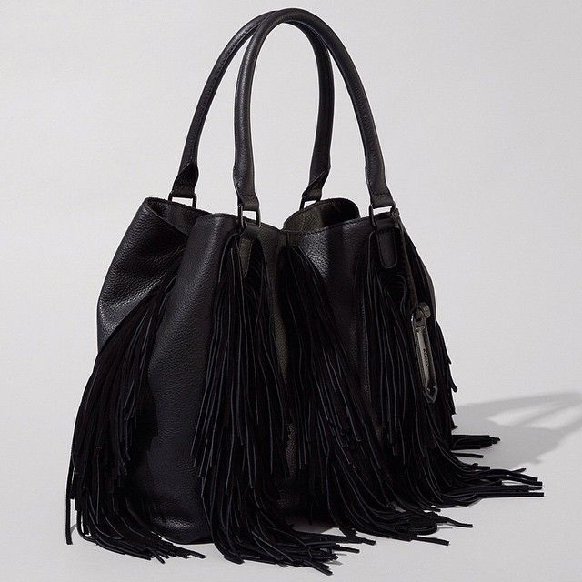 eca254959dd Genuine leather MARETTO is changing the tote game with on-the-go appeal    the only detail that matters  fringe.  bagandbrag
