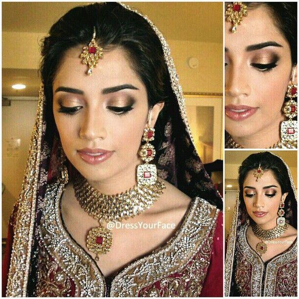 Soft Indian Bridal Make Up Asian Bridal Makeup Soft Bridal Makeup